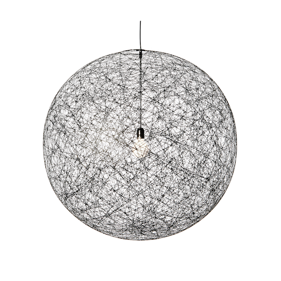 Springbud - Random Pendant Light Ø60 cm - Black