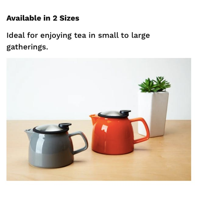 Forlife Bell Teapot - Turqoise (2 Sizes) - 5