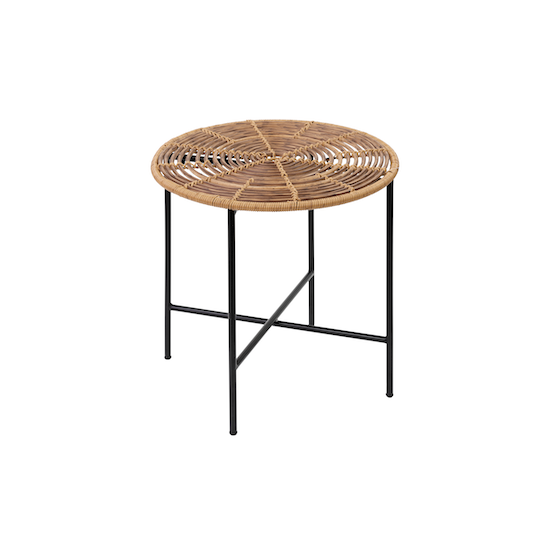 Vietnam Housewares - Cody Rattan Side Table