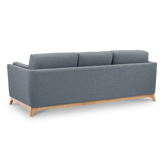 Elijah 3 Seater Sofa - Whale (Fabric) - 3