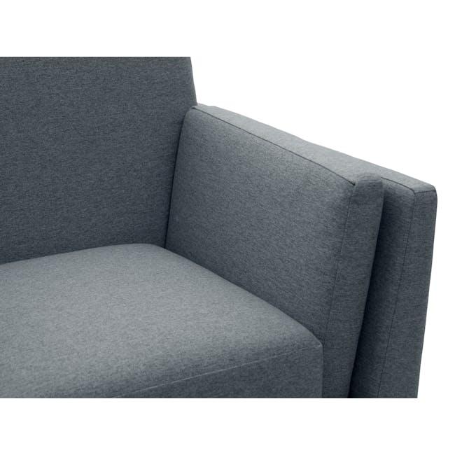 Elijah 3 Seater Sofa - Whale (Fabric) - 5