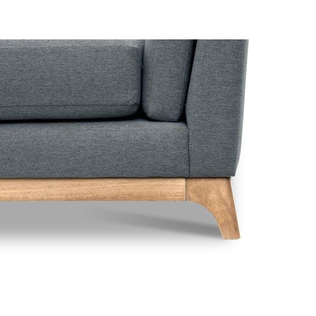 Elijah 3 Seater Sofa - Whale (Fabric) - 4