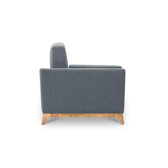 Elijah 3 Seater Sofa - Whale (Fabric) - 2