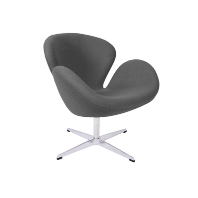 Swan Chair - Light Grey Cashmere - Image 1