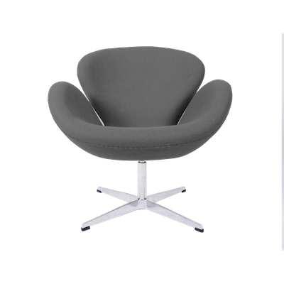 Swan Chair - Light Grey Cashmere - Image 2