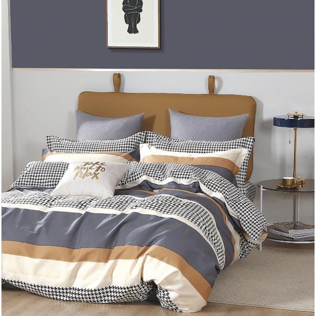 Garfton 5-pc Bedding Set (2 Sizes) - 0