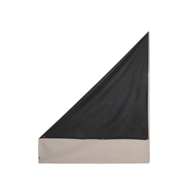 Complete Blackout Magnetic Window Cover - Linen - 15
