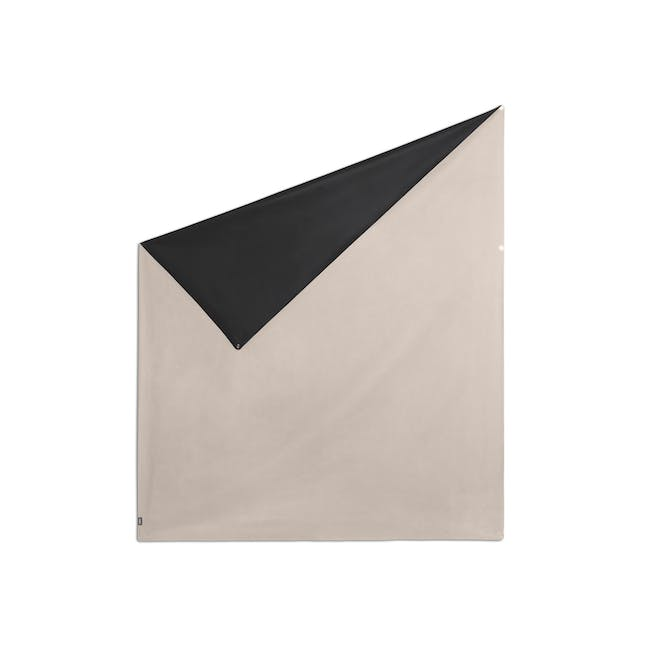 Complete Blackout Magnetic Window Cover - Linen - 14