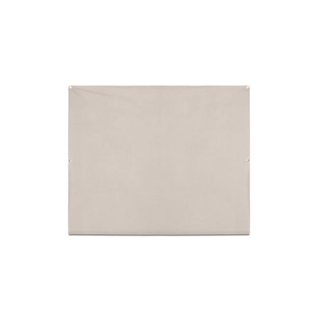 Complete Blackout Magnetic Window Cover - Linen - 13