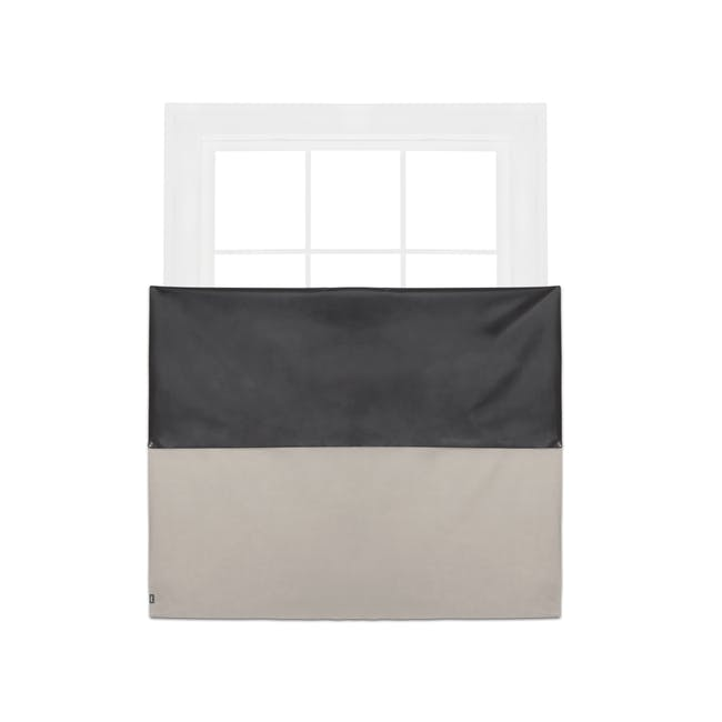 Complete Blackout Magnetic Window Cover - Linen - 8