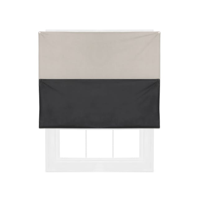 Complete Blackout Magnetic Window Cover - Linen - 4