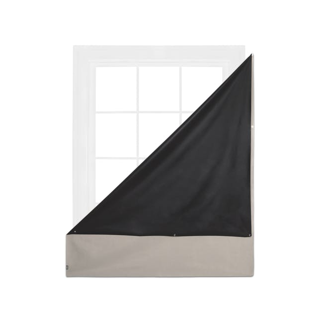Complete Blackout Magnetic Window Cover - Linen - 6