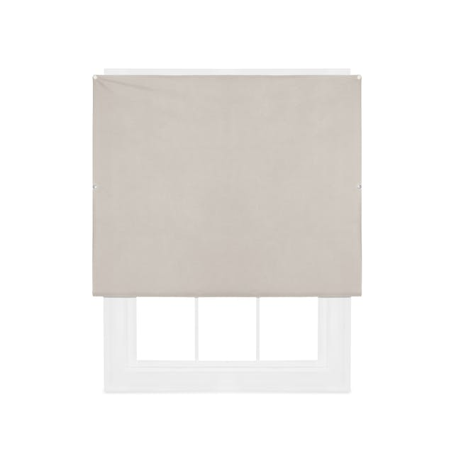 Complete Blackout Magnetic Window Cover - Linen - 0
