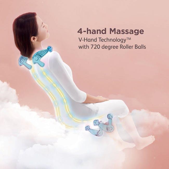 OSIM uDivine V Massage Chair - Burgundy - 2