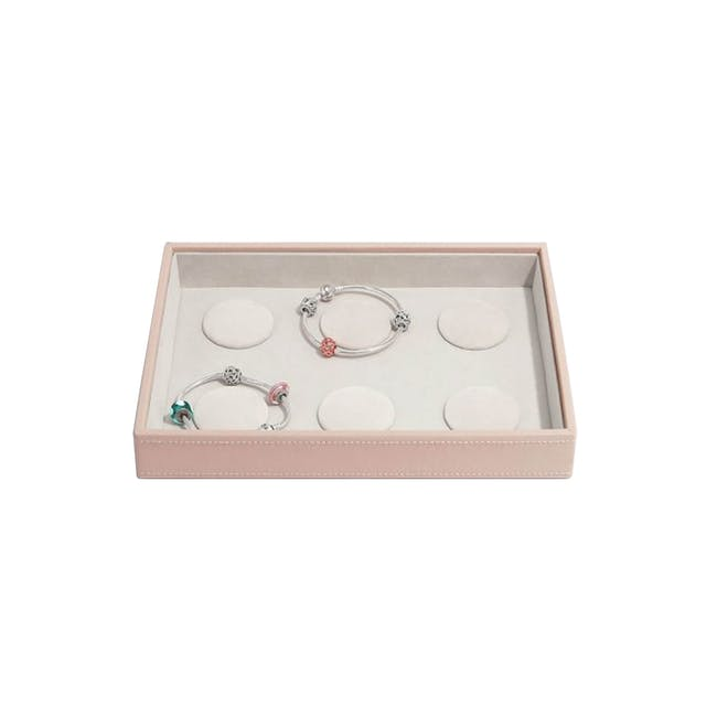 Stackers Classic 6-Charm Bracelet Layer - Blush - 0