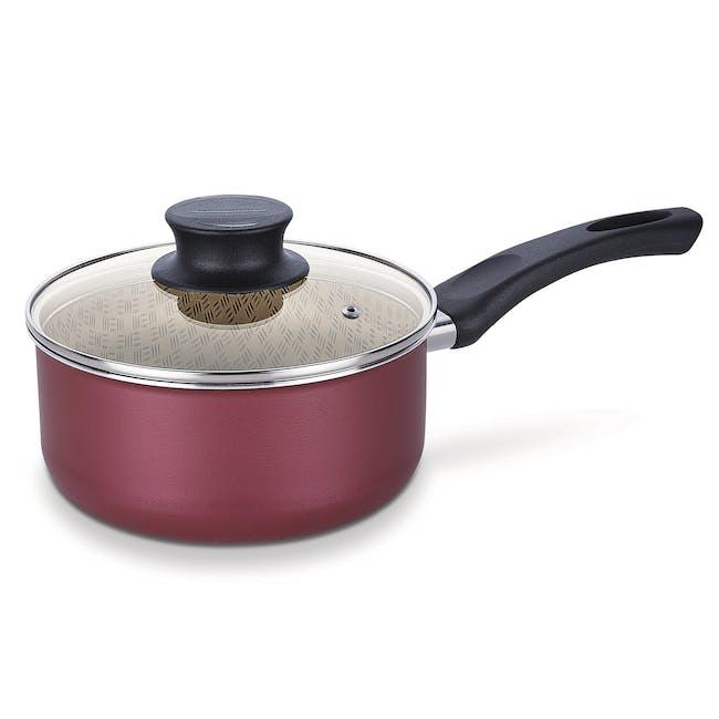 Tramontina Starflon Non-Stick Sauce Pan with Lid(2 Sizes) - 0