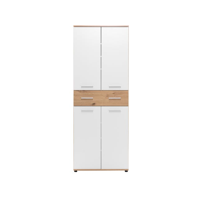 (As-is) Verona Tall Shoe Cabinet - 1 - 0