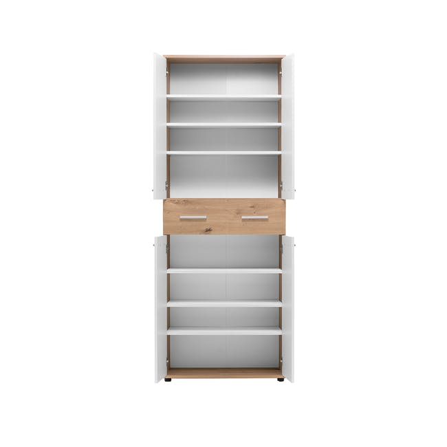 (As-is) Verona Tall Shoe Cabinet - 1 - 5