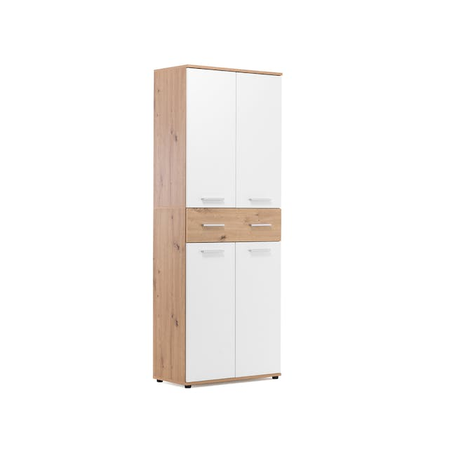 (As-is) Verona Tall Shoe Cabinet - 1 - 6