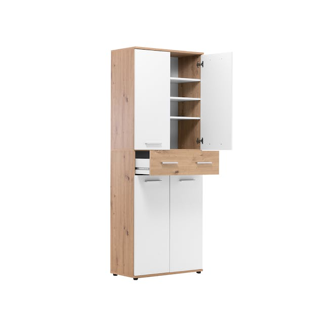 (As-is) Verona Tall Shoe Cabinet - 1 - 7