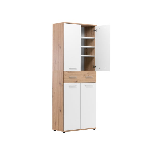 (As-is) Verona Tall Shoe Cabinet - 1 - 8