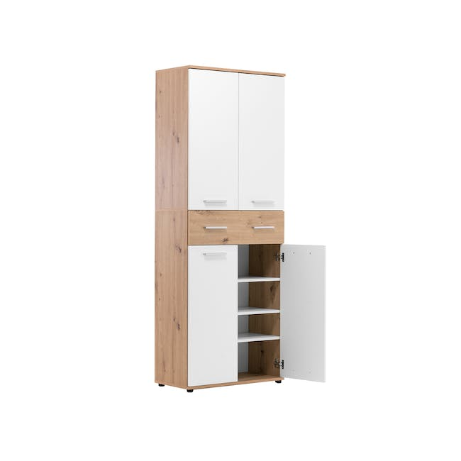 (As-is) Verona Tall Shoe Cabinet - 1 - 9