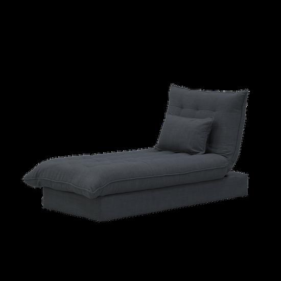 Sofa Beds - MLM - Tessa Storage Lounge Bed - Granite