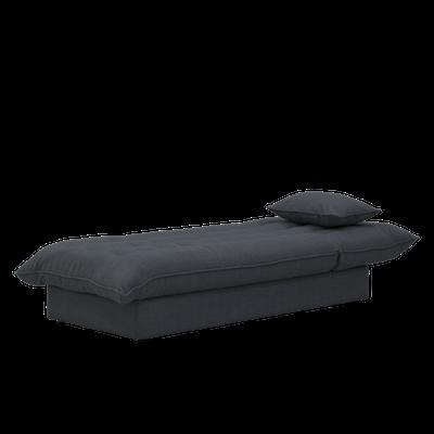 Tessa Storage Lounge Bed - Granite - Image 2