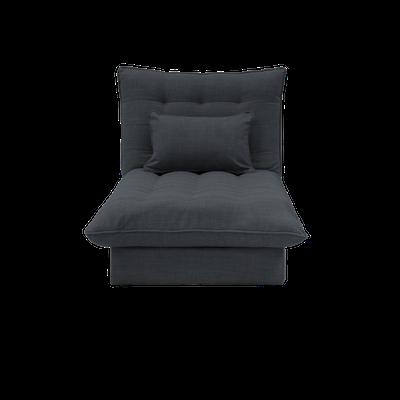 Tessa Storage Lounge Bed - Granite - Image 1