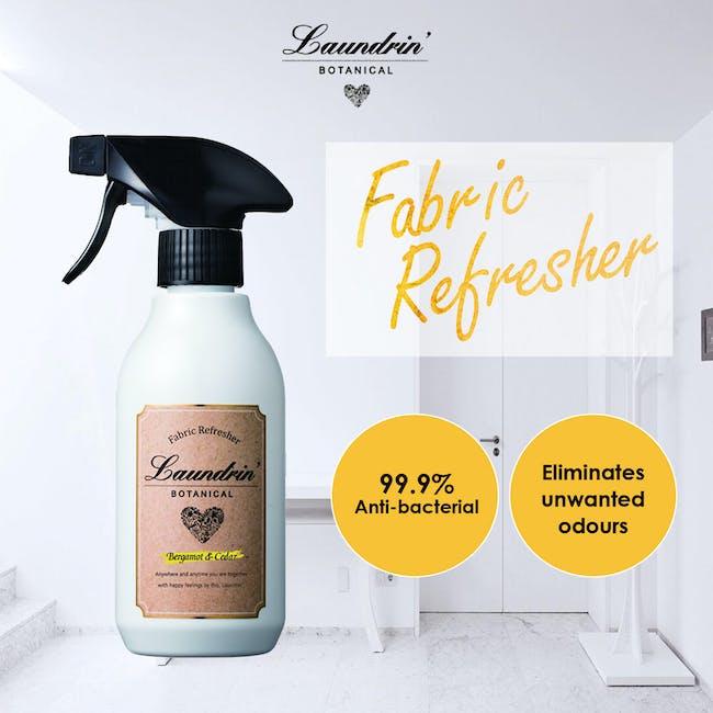 Laundrin Botanical Fabric Refresher 300ml - Bergamot & Cedar (99.9% Anti-bacterial) - 2