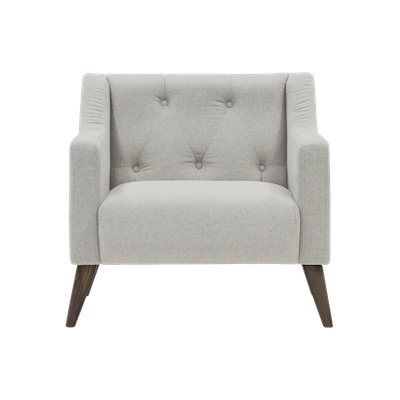 (As-is) XavierArmchair - Ivory - 1 - Image 1