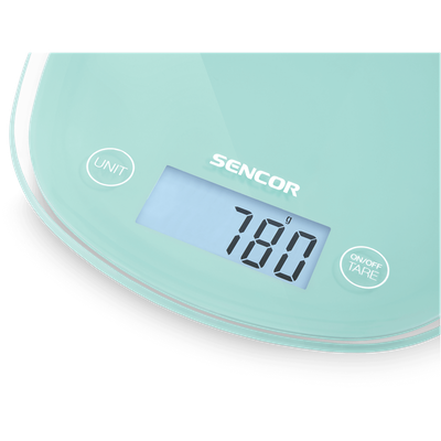 SENCOR Pastels Kitchen Scale - Mint - Image 2