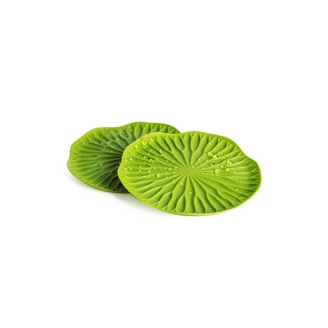 Baibua Coaster - Green (Set of 2) - 0