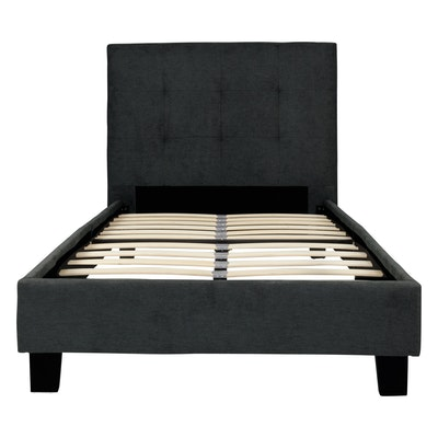 Onyx Single Bed - Dark Grey - Image 1
