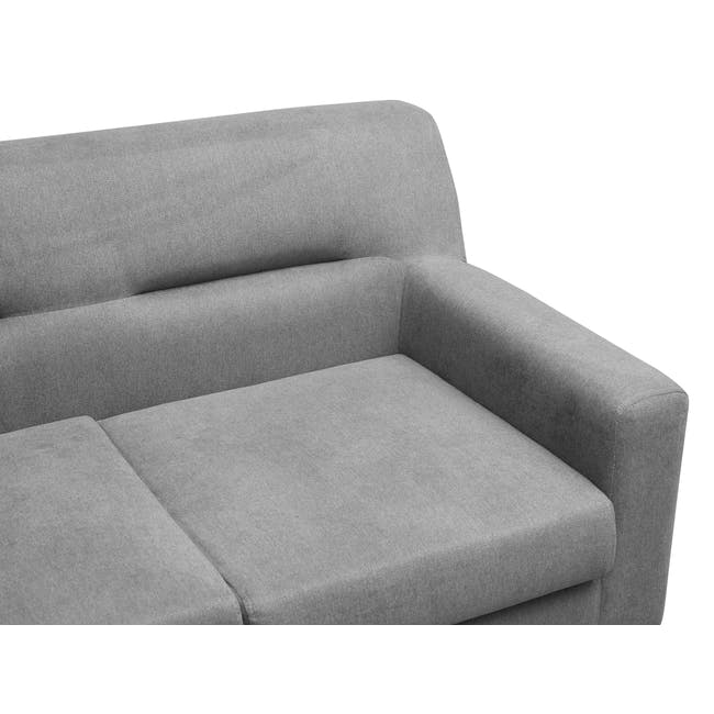 Damien 2 Seater Sofa - Heather Grey - 5