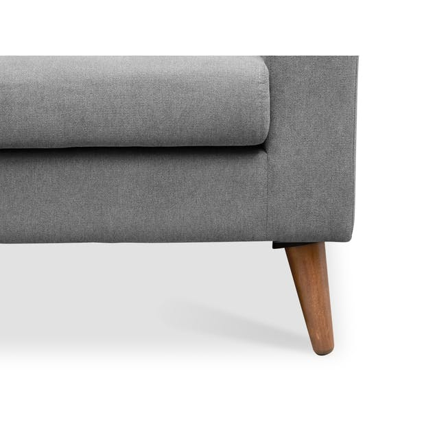 Damien 2 Seater Sofa - Heather Grey - 6