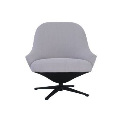 Cabrio Swivel Lounge Chair - Sandstone - Image 1