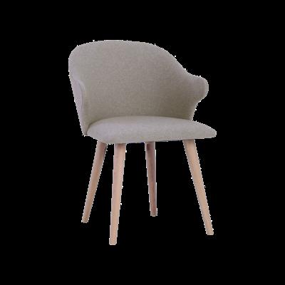 Runa Dining Arm Chair - Dolphin, Oak - Image 2