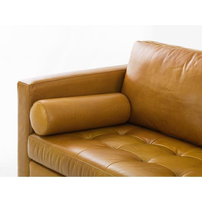 Nolan L-Shaped Sofa - Butterscotch (Premium Waxed Leather) - 5