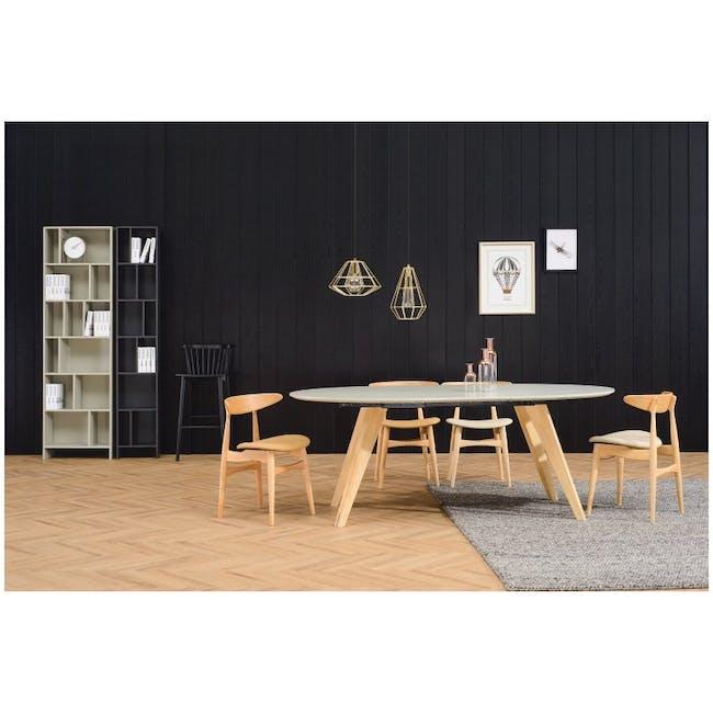 Tricia Dining Chair - Walnut, Espresso - 5
