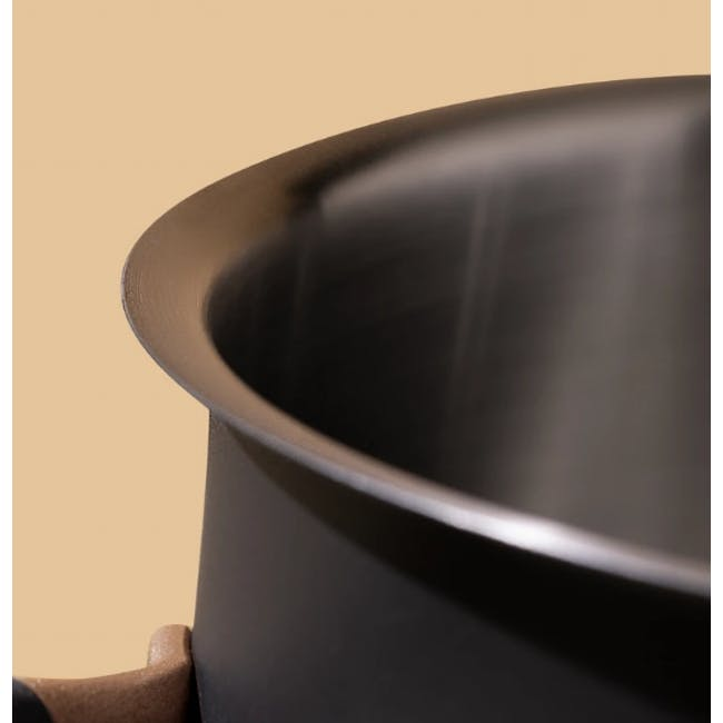 Meyer Accent Series Stainless Steel Casserole - 24cm | 4.7L - 4