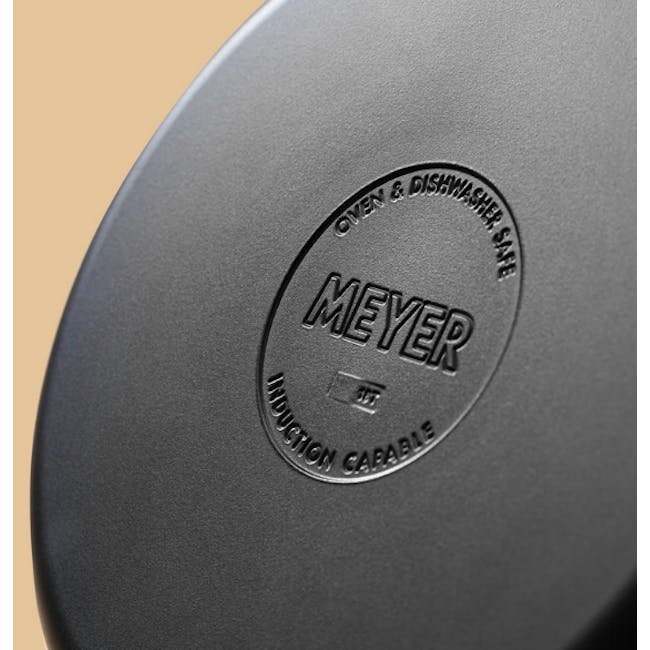 Meyer Accent Series Stainless Steel Casserole with Lid - 24cm 4.7L - 7