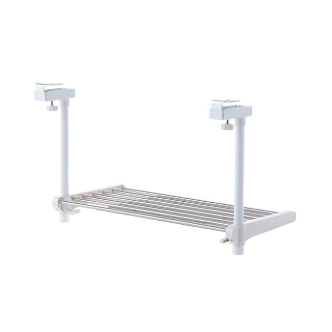 HEIAN SingleTier Adjustable Kitchen Hanging Shelf - 2