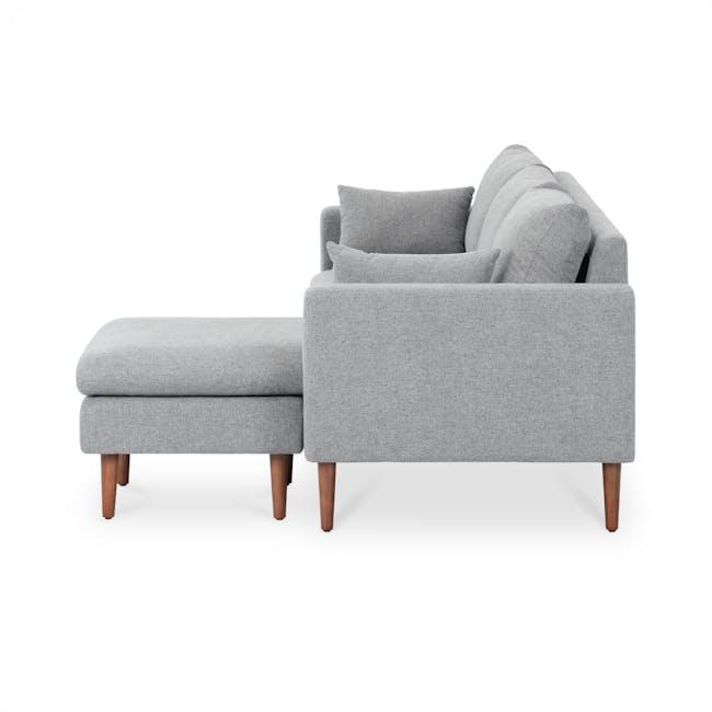 Alicia L-Shaped Sofa - Slate - 4