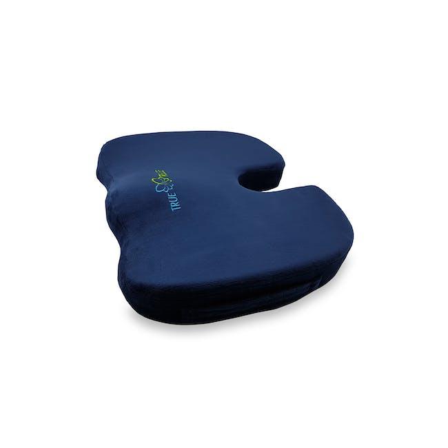 True Relief Ortho-Seat Memory Foam Cushion - Navy - 0
