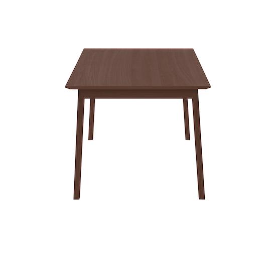 Laholm - Kiros Extendable Dining Table 1.8m - Walnut, Black