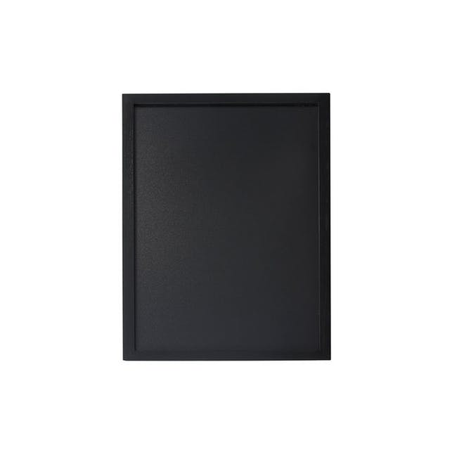 Securit Woody Chalkboard - Black - 0