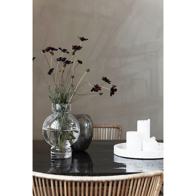 Bubble Medium Vase - Clear - 1