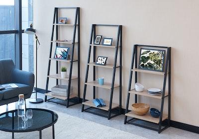 Luca Medium Shelf- Oak - Image 2