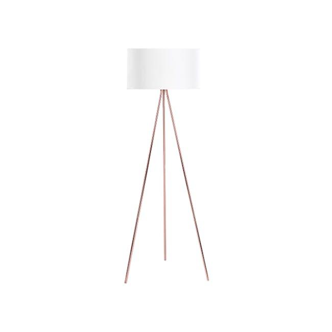 Isabella Floor Lamp - Copper - 0